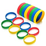 Sensory Bracelets for Boys and Girls with Autism, ADHD, SPD  Fun Tactile Stimulation Fidget Toy for Kids with Anxiety & Special Needs (8 Pack)