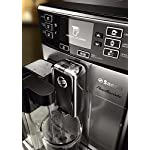 Saeco picobaristo super automatic espresso machine, 1. 8 l, stainless steel, hd8927/47 44 easily select one of 15 delicious drinks, or customize it to your taste with coffee equalizer and save it to one of 6 user profile our patented aquaclean water filter eliminates the need to descale for up to 5,000 cups get superior taste for 20,000 cups with our durable ceramic grinders