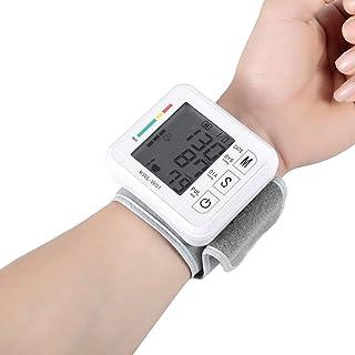 YBS Inteligente muñeca esfigmomanómetro Digital automático del Brazo Superior Instrumento de medición con una Amplia Gama de puños, 3,5 Pulgadas de Pantalla LCD de Gran tamaño