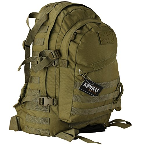 Kombat UK Spec-Ops Pack - Mochila, Color marrón,...