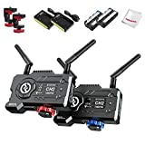 Hollyland Mars 400S Pro 1080p HDMI&SDI Transmission System 5G Wireless Video & Audio Transmission 400ft 80ms Latency APP Support Android & iOS Direct Video for Live Stream (Transmitter+Receiver)