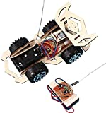 RSDYXJH- Remote Control Car Model Kits to Build-DIY Scientific Experiments and Educational Toys for Kids, Assembly Remote Control Racing Car Model Kits,car Assembly kit,Build kit Kids