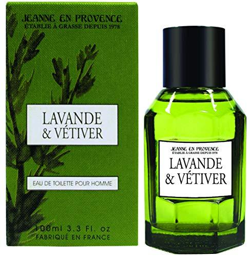 Jeanne en Provence Eau de Toilette, Lavendel und Vetiver, 100 ml