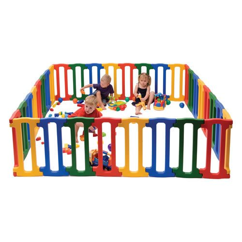 Kaplan Early Learning Company Large Magic Panel Playpen
