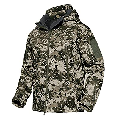 MAGCOMSEN Ski Jacket Men Hunting Jacket Camo Jacket Snow Jacket Snowboard Jackets Warm Thick Jackets Mountain Jacket