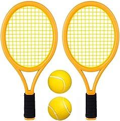 Kids Tennis Racket Set with Plastic Balls