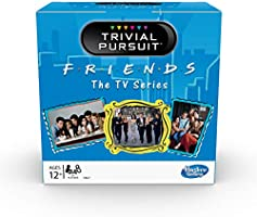 Trivial Pursuit: Friends The TV Series Edition Trivia Party Game; 600 Trivia Questions for Tweens and Teens Ages 12 and...
