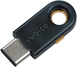 Yubico YubiKey 5C - Two Factor Authentication USB Security Key, Fits USB-C Ports - Protect Your Online Accounts with More Than a Password, FIDO Certified USB Password Key