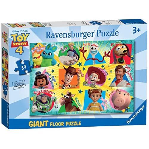 Ravensburger Toy Story 4 Puzzle, Pavimento, 24 Pezzi, 05562