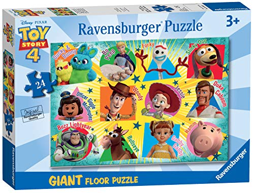 Ravensburger 05562 Disney Pixar Toy Story 4-24 Piece Giant Floor Jigsaw Puzzle for Kids – Every Piece is…