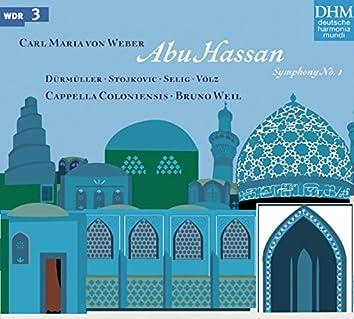 Weber: Abu Hassan; Symphony No. 1