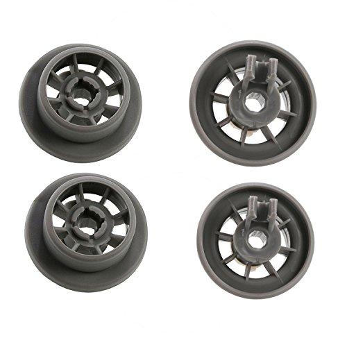 Lot de 4 roues de rechange pour panier inférieur pour lave-vaisselle Gorenje