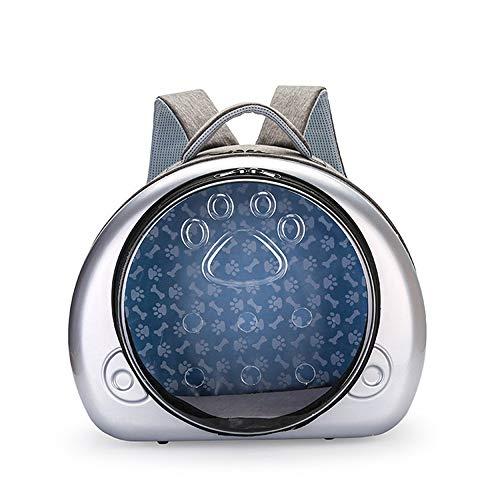 GXHGRASS, kamercapsule voor huisdieren, rugzak, draagbaar, ademend, panorama-auto-katentas, milieuvriendelijk PC-huisdier buitenshuis, transparante tas, voor huisdieren onder 5 kg