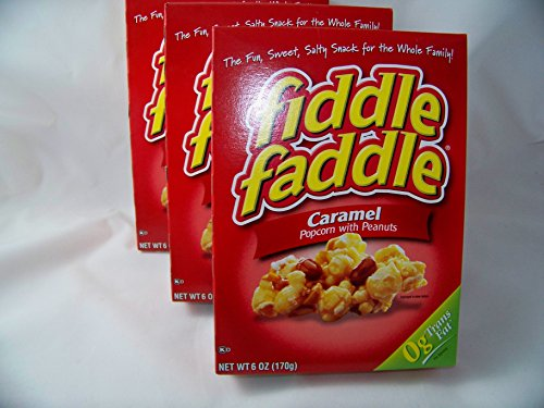 Best Price Fiddle Faddle Caramel Popcorn With Peanuts, 6 Oz (Pack of 3)