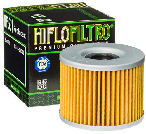 Hiflo Moto Performances Filtre à Huile pour Suzuki Gsf250 Bandit 92–95 Gsf250 V Bandit 97 Gsx250 S Cobra 89 Gsx250 S Katana 86 Gsx250 SS Katana 91 OE Hf531