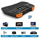 Purpplex 2.4G Mini Wireless Keyboard Touchpad Mouse Combo for Android PC Smart TV - BlackPurpplex 2.4G Mini Wireless Keyboard Touchpad Mouse Combo for ...