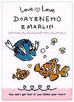 デルフィーノ A4クリアフォルダー ディズニー ラブラブドリー ドリー&ニモ&マーリン DZ-77847