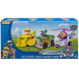 Paw Patrol Racers 3-Pack Vehicle Set, Rubble/Rocky/Skye by Spin Master