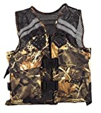 Flowt 40626-L/XL Mesh Fishing Adult Life Vest Type III PFD, Tan Large/Extra Large