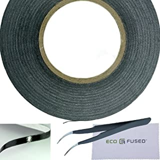 Eco-Fused Adhesive Sticker Tape for Use in Cell Phone Repair - 2mm Tape - Also Including 1 Pair of Tweezers/Eco-Fused Micr...