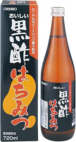 おいしい黒酢はちみつ 720ml 瓶