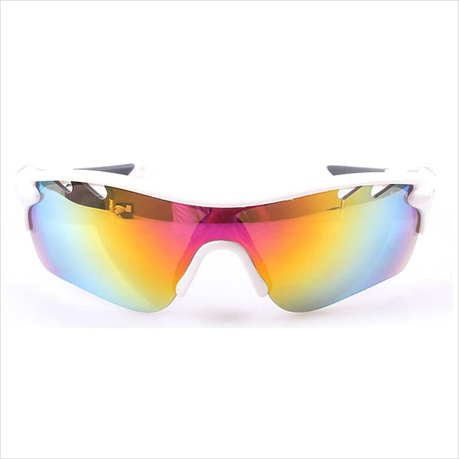 Sports sunglasses Polarized Outdoor Sports Sunglasses PC 3Pcs Interchangeable Lens Myopia Beach Weekend Vacation Relax Men's And Women's General Outdoor Fishing Driving Cycling Selfdriving Tour Cycli