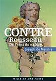 Contre Rousseau - De l'état de nature