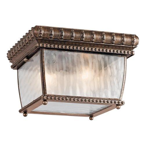 Venetiaanse regen buiten Err ten-rand plafondlamp
