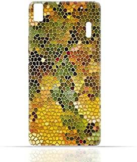 lenovo K3 Note / A7000 TPU Silicone Case with Stained Glass Art
