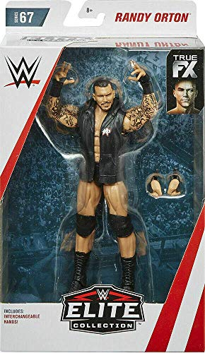 Randy Orton WWE Elite Figura Lucha Libre Mattel Serie 67