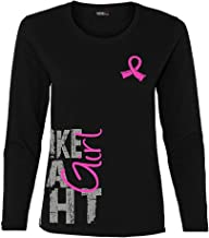 Fight Like a Girl Side Wrap Long-Sleeved T-Shirt Ladies