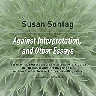 Against Interpretation and Other Essays audiobook cover art