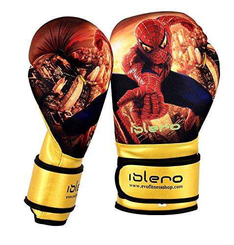 Islero Kinder-Boxhandschuhe mit Gelpolster, für MMA, Boxsack, Muay Thai usw., 113g, 170g, 227g