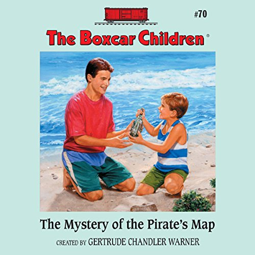 The Mystery of the Pirate's Map audiobook cover art