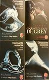 Cinquante nuances de Grey en 4 tomes (Cinquante nuances plus sombres/ Cinquante nuances de Grey au cinéma/ Cinquante nuances de Grey/ Cinquante nuances plus claires