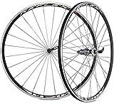 Cicli Bonin Fache Reflex RX7 - Rueda de Campagnolo Unisex, Color Negro y Blanco, 71,1 cm