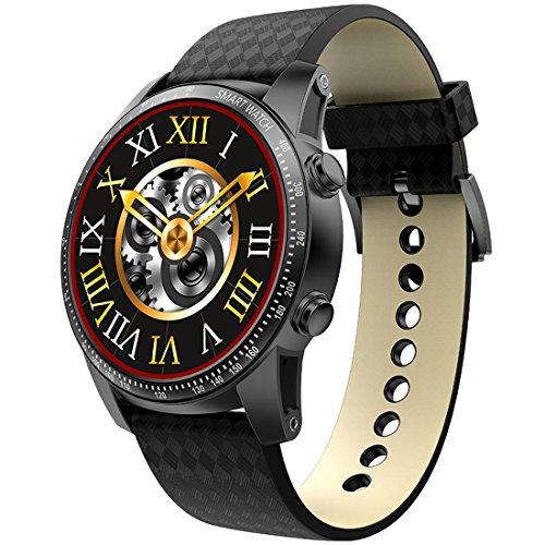 Smartwatch JRC KW99 1,39 Zoll Amoled-Bildschirmanzeige Bluetooth-Smart Watch, Support-Schrittzähler / Echtzeit-Herzfrequenz-Monitor / Information Pushing / GPS-Navigation, kompatibel mit Android- und