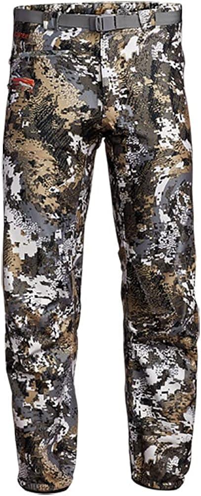 SITKA Gear Men's Downpour Waterproof Articulated Camo Hunting Pants