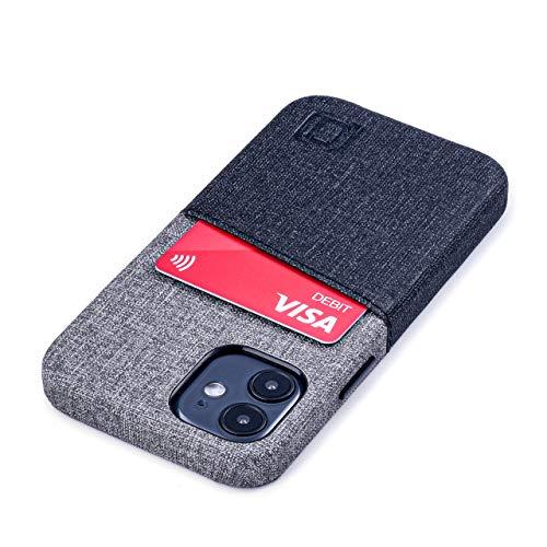 Dockem Luxe M2 Funda Cartera para iPhone 12 Mini: Funda Tarjetero Slim...