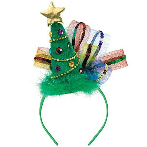 Christmas - Serre-Tete Sapin de Noel - Vert