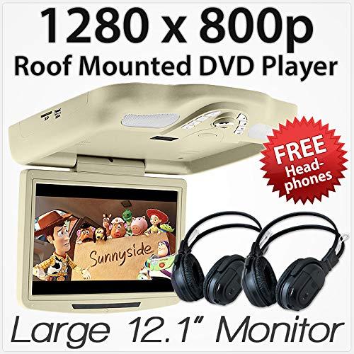 27,9cm Auto DVD-Player Dach montiert Flip Down Monitor Display USB Spiele