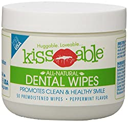 Kissable Dental Wipes - Best Dog Teeth Cleaning Products