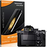 SWIDO® Protector de Pantalla para Sony Alpha 7 III [Anti-Reflex], [2 Piezas] Antirreflectante,...