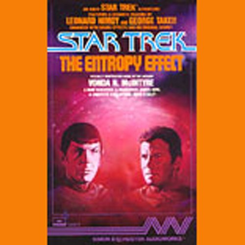 Star Trek: The Entropy Effect (Adapted) audiobook cover art