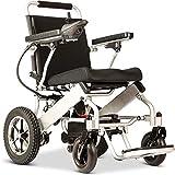 Fold & Travel Lightweight Electric Wheelchair Motor Motorized...