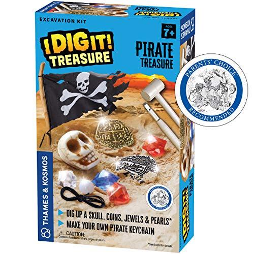 Thames & Kosmos I Dig It! Treasure - Pirate Treasure Excavation Kit  ...