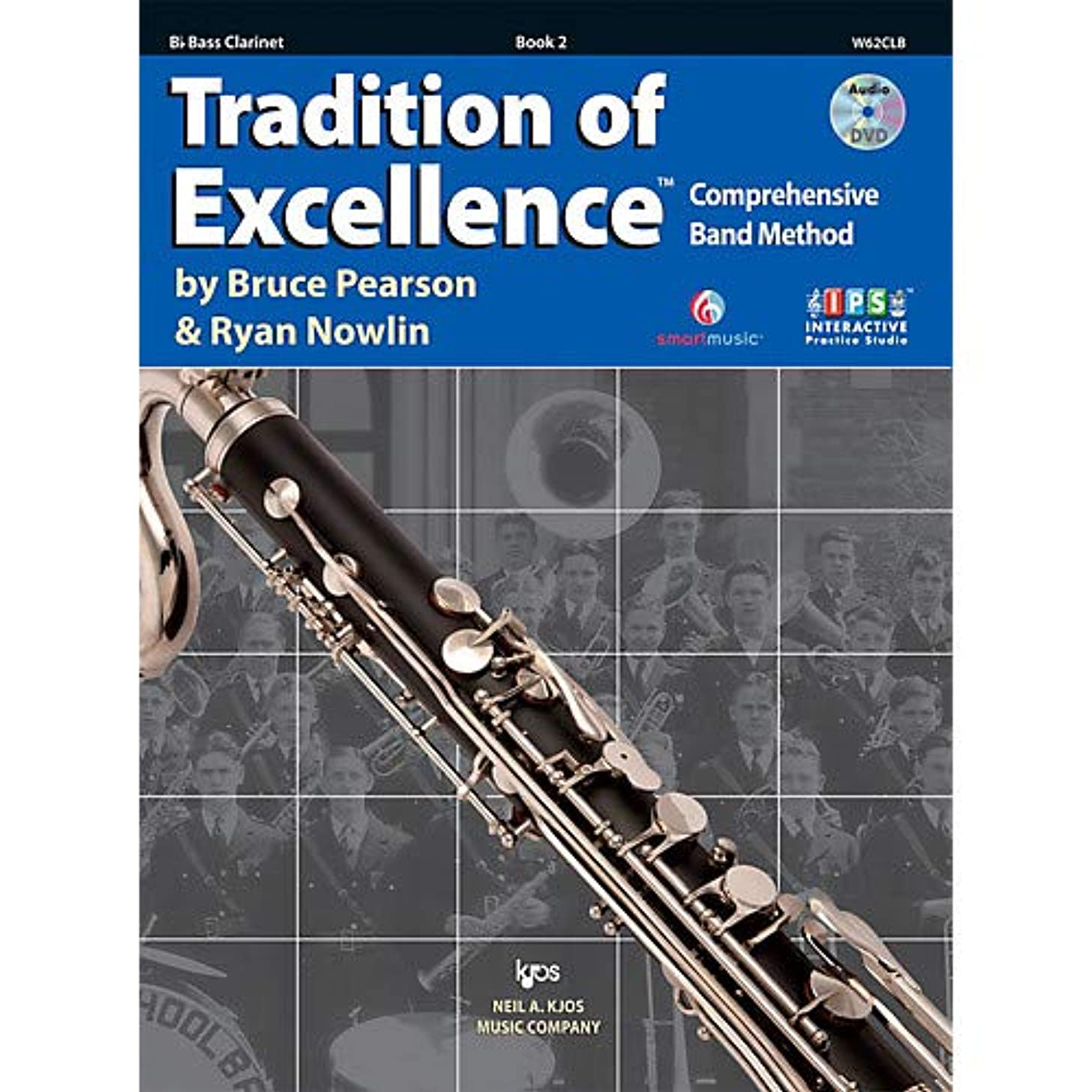 Tradition Of Excellence Book 2 for Bass Clarinet Pack of 2