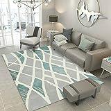 XTUK Home Decor Teppich Rechteckige Wohnzimmer Sofa Tisch Pad Schlafzimmer Nacht Teppich Größe Wohnzimmer/Schlafzimmer/Küche/Flur, Bodenmatte Pflegeleicht ist 80 * 120cm