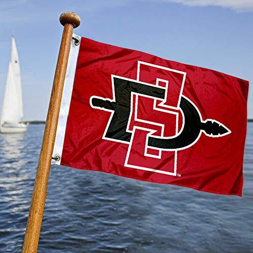 College Flags & Banners Co. SDSU Aztecs Golf Boat Mini Flag
