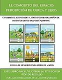 Fichas de números para niños de 4 años (El concepto del espacio: percepción de cerca y lejos): Este libro contiene 30 fichas con actividades a todo color para niños de 4 a 5 años (19)